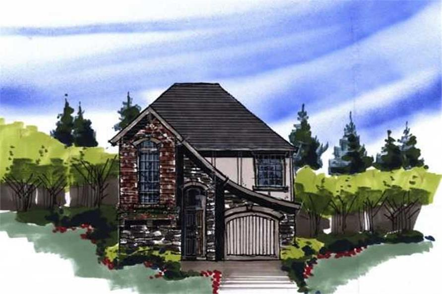 3-Bedroom, 1487 Sq Ft Country House Plan - 149-1224 - Front Exterior
