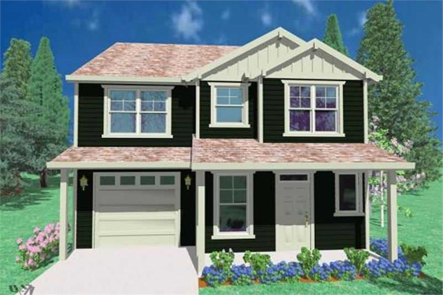 Main image for house plan # 16642