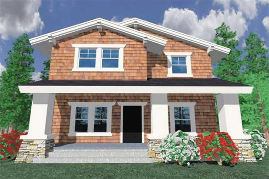 3-Bedroom, 1933 Sq Ft Ranch House Plan - 149-1226 - Front Exterior