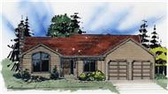 Main image for house plan # 2245