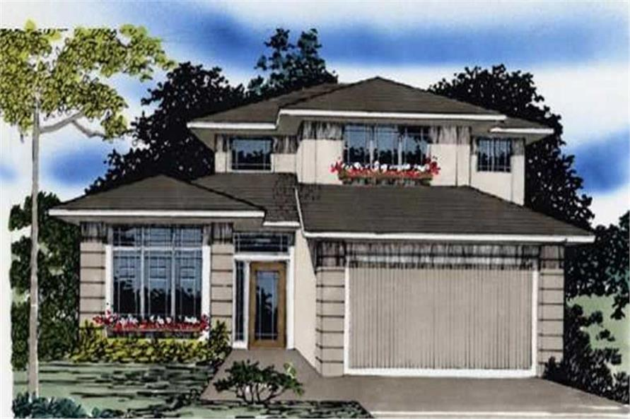 Main image for house plan # 2276