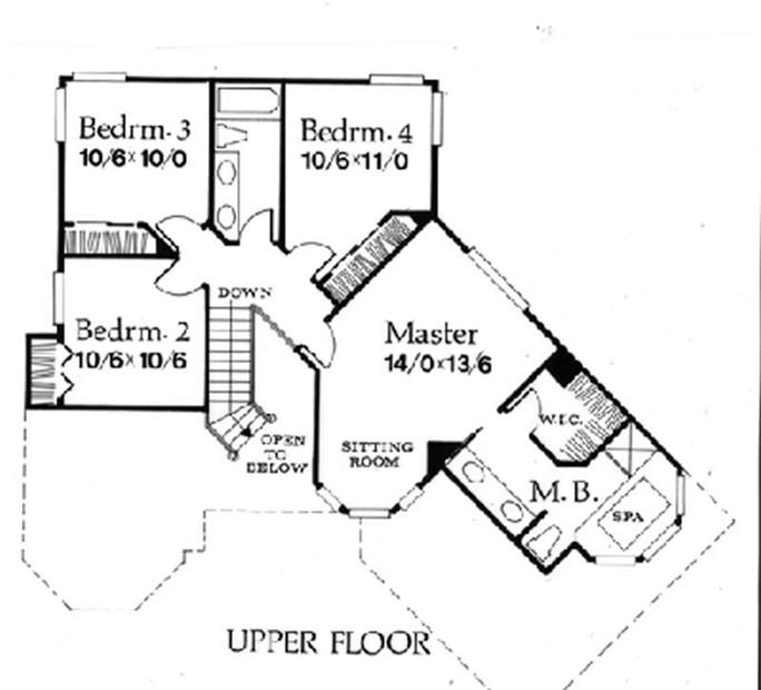 French European House Plans
