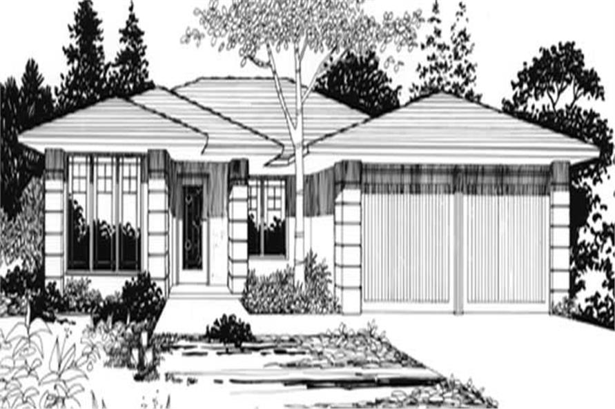 Main image for house plan # 2275