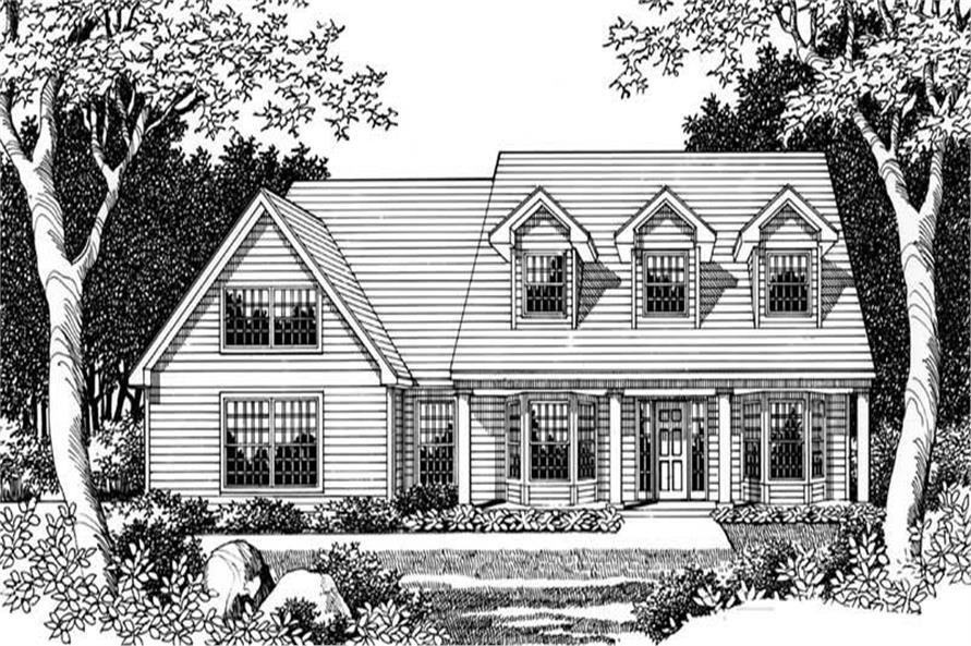 Main image for house plan # 2717