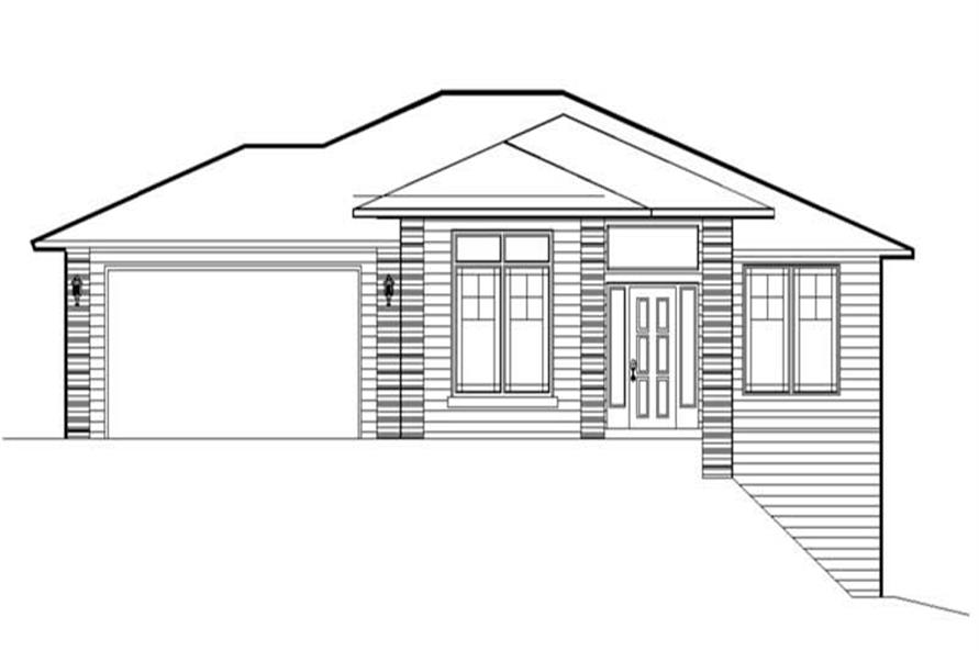 Home Plan Rendering of this 3-Bedroom,2021 Sq Ft Plan -149-1249