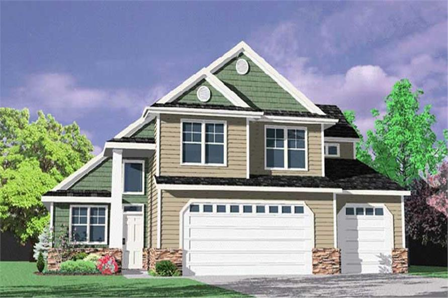 Main image for house plan # 2482