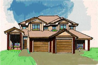 Main image for house plan # 2280
