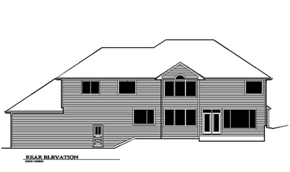 Rear Elevation for ms3551