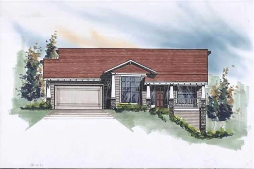 Main image for house plan # 2757