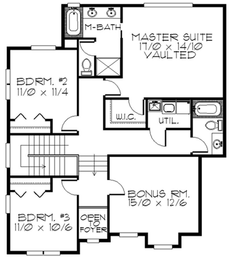 Transitional Feng Shui House Plans Home Design M 2268