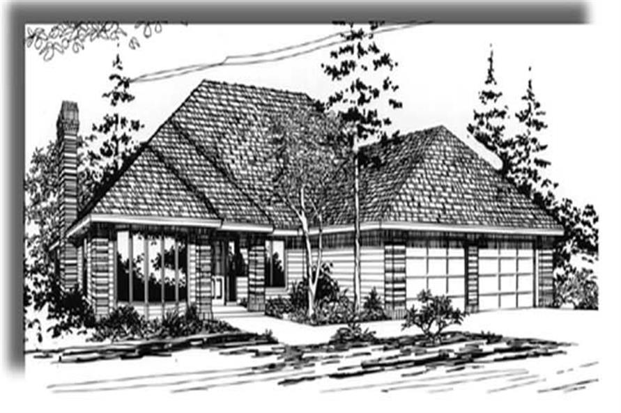 Main image for house plan # 2752