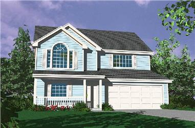 Main image for house plan # 2244