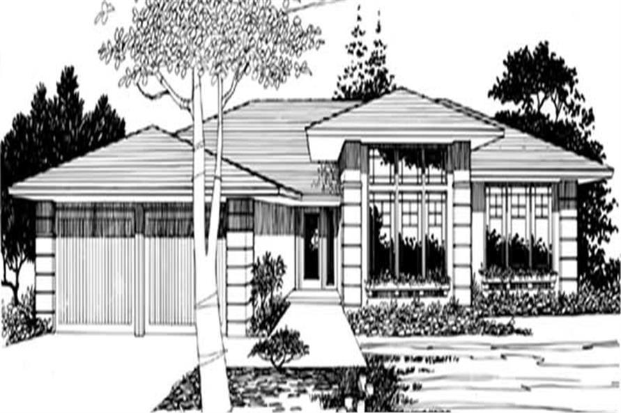 Home Plan Rendering of this 3-Bedroom,1557 Sq Ft Plan -149-1286