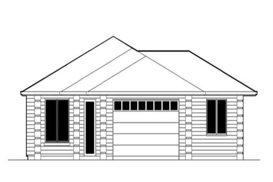 Home Plan Rendering of this 2-Bedroom,1880 Sq Ft Plan -149-1291