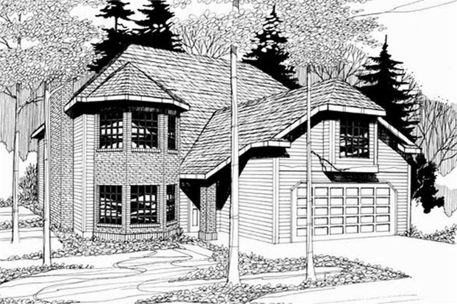 Main image for house plan # 2739