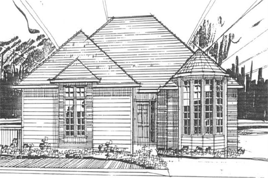 2-Bedroom, 1479 Sq Ft European Home Plan - 149-1297 - Main Exterior