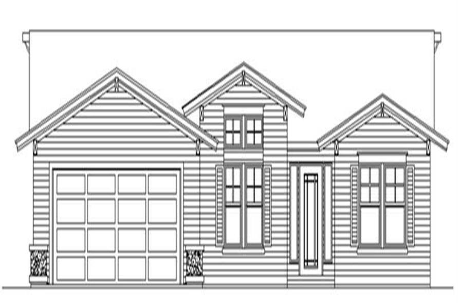 Main image for house plan # 2270