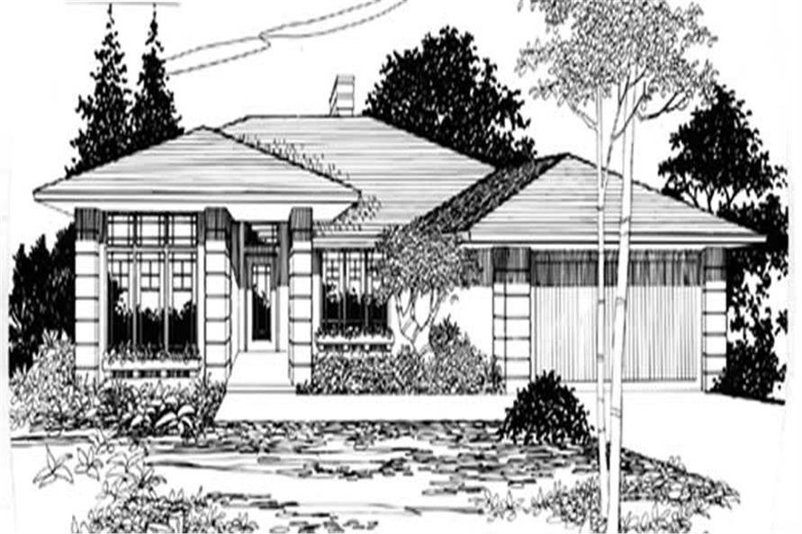 Main image for house plan # 2269