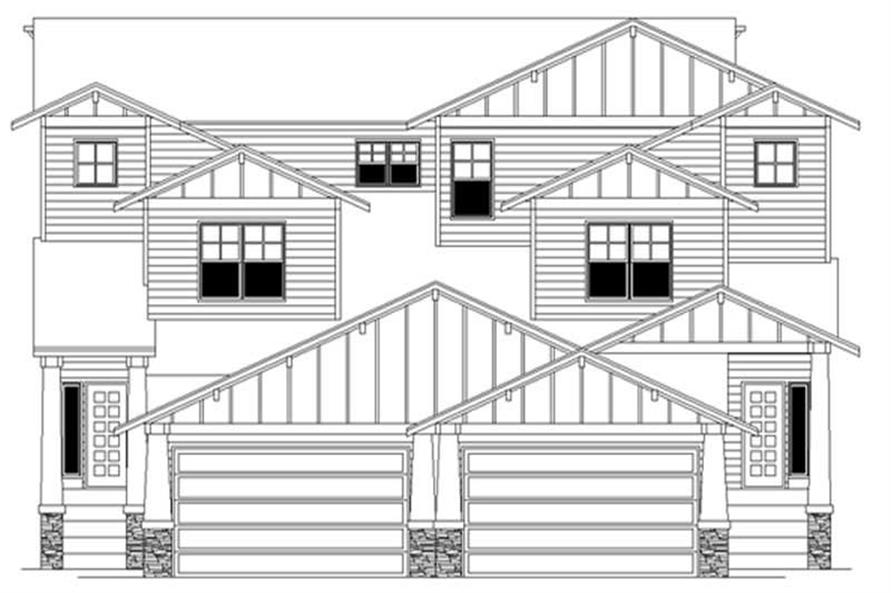 Main image for house plan # 2724