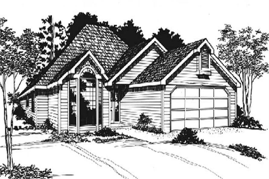 Main image for house plan # 2264