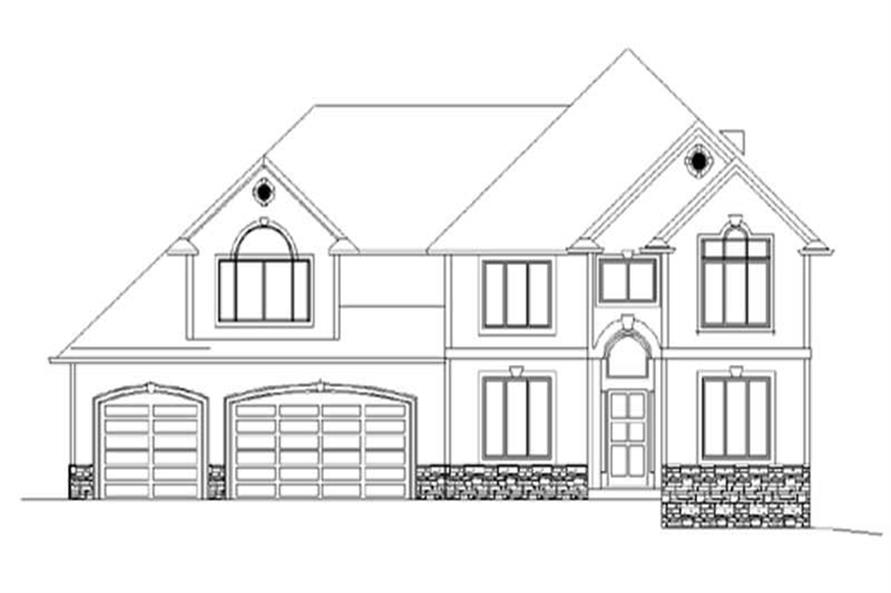 Main image for house plan # 2531