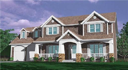 Main image for house plan # 2520