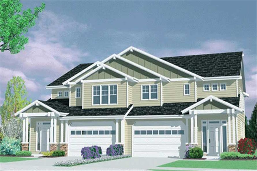 Main image for house plan # 2788