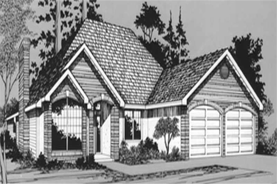 Main image for house plan # 2771