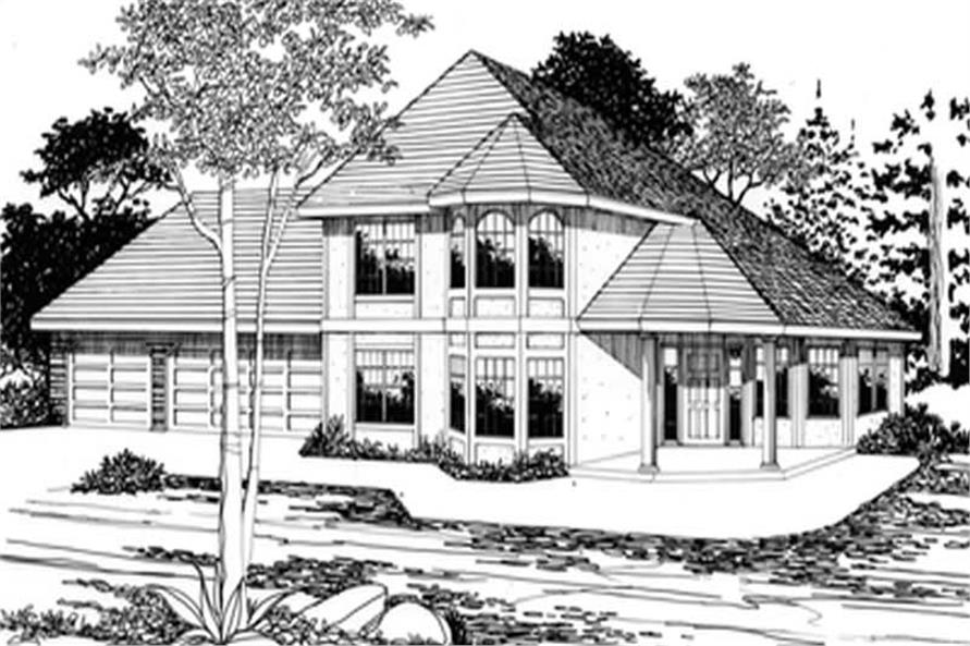 Main image for house plan # 2768