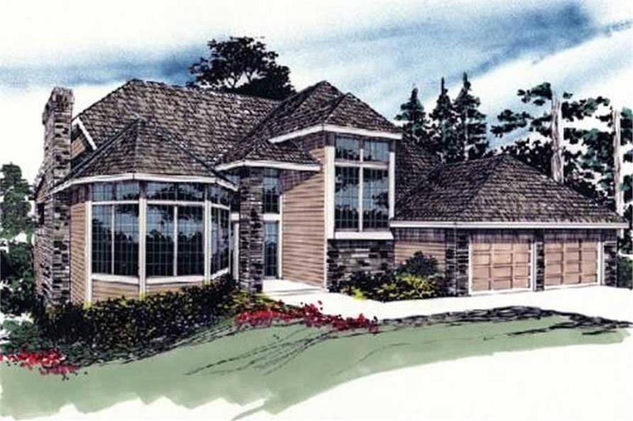 Main image for house plan # 2533