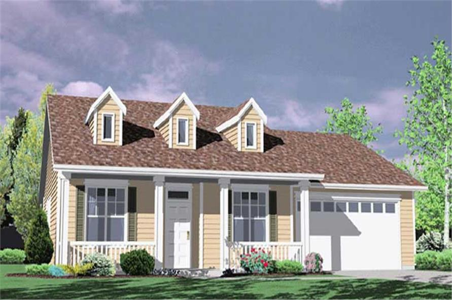 Main image for house plan # 2299