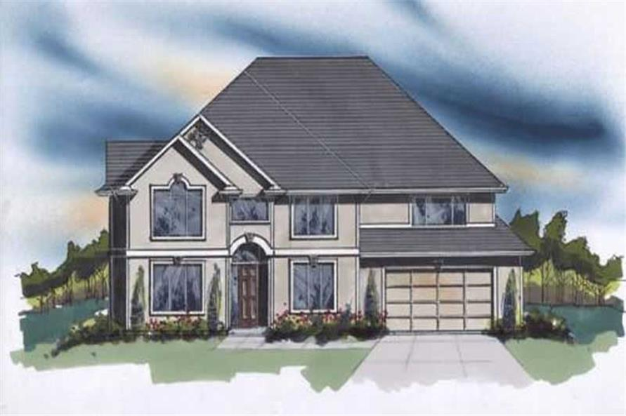 Main image for house plan # 2313