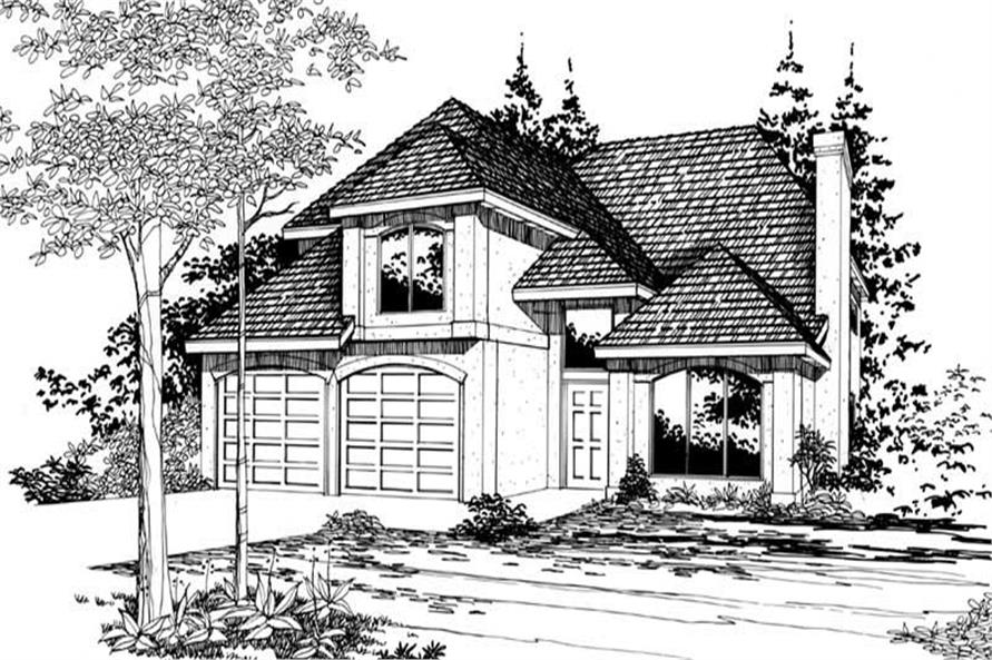 Main image for house plan # 2785