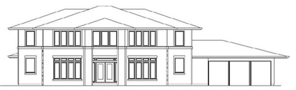 Main image for house plan # 2312
