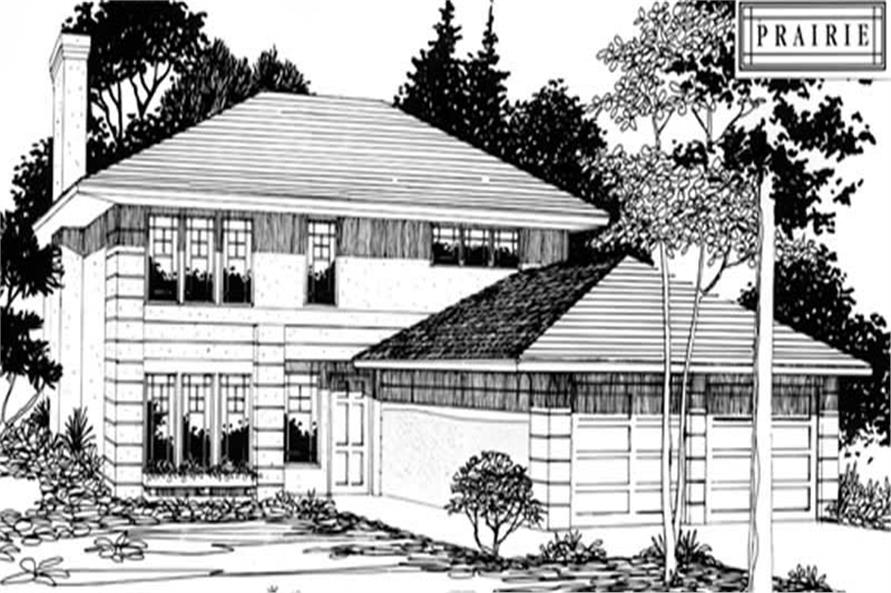 3-Bedroom, 1745 Sq Ft European Home Plan - 149-1352 - Main Exterior