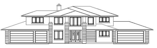 Main image for house plan # 2305
