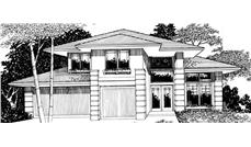 Main image for house plan # 2766