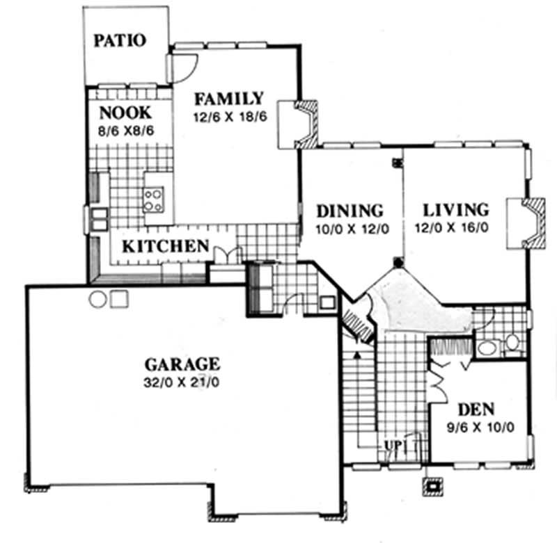 Feng Shui Prairie House Plans Home Design Msap 2068 2766