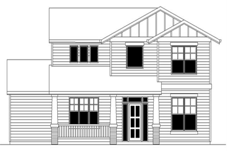 3-Bedroom, 1757 Sq Ft Country Home Plan - 149-1365 - Main Exterior