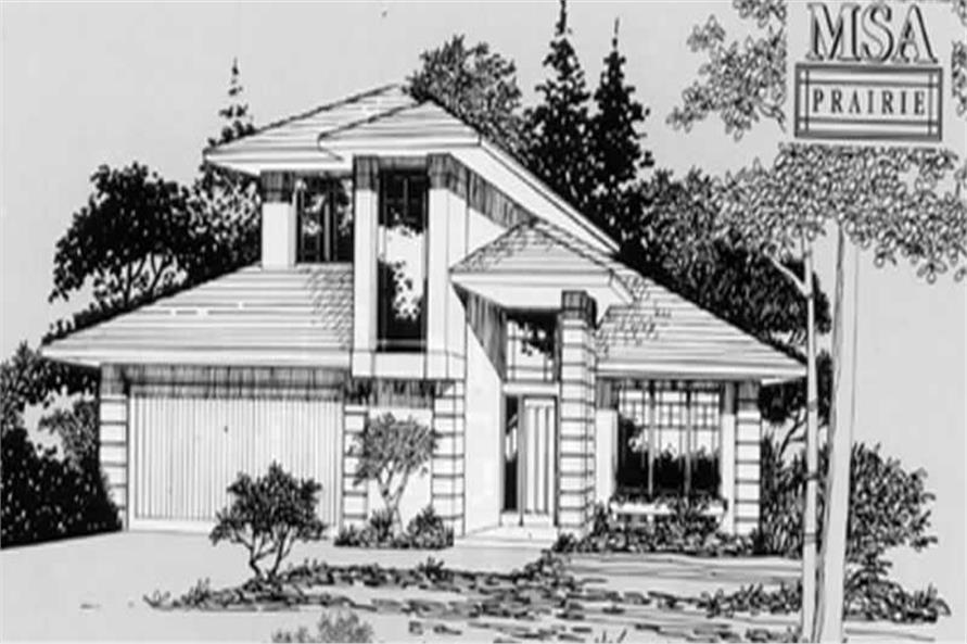 Main image for house plan # 2287