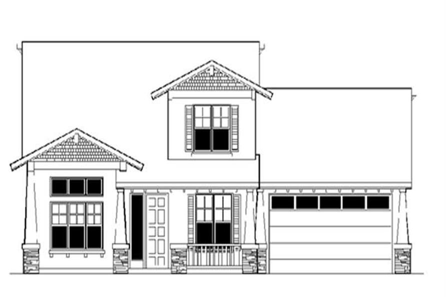 Main image for house plan # 2805