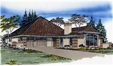 Main image for house plan # 2281