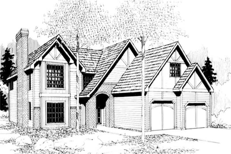 Main image for house plan # 2762