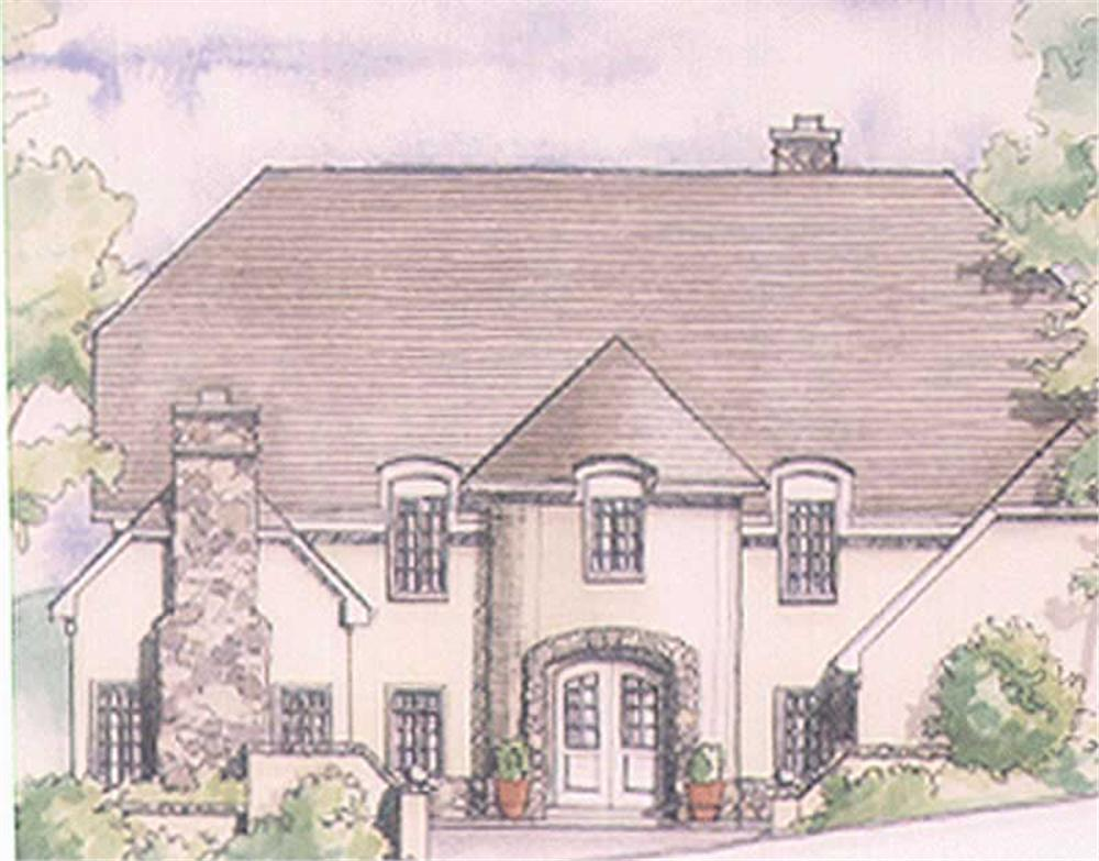 Main image for house plan # 2526