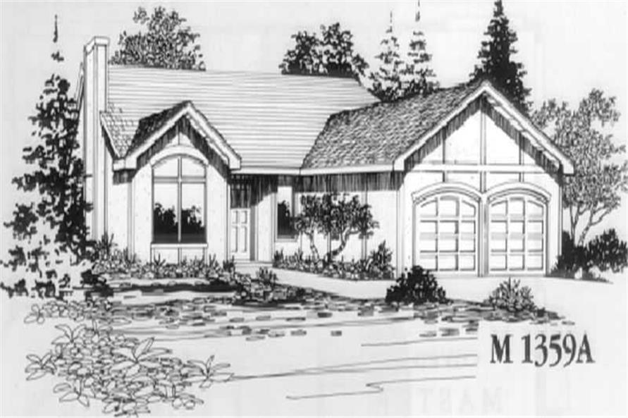Home Plan Other Image of this 3-Bedroom,1385 Sq Ft Plan -149-1393