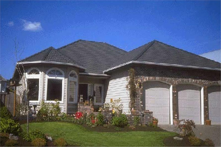 Home Exterior Photograph of this 3-Bedroom,1385 Sq Ft Plan -149-1393