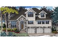 Main image for house plan # 2525