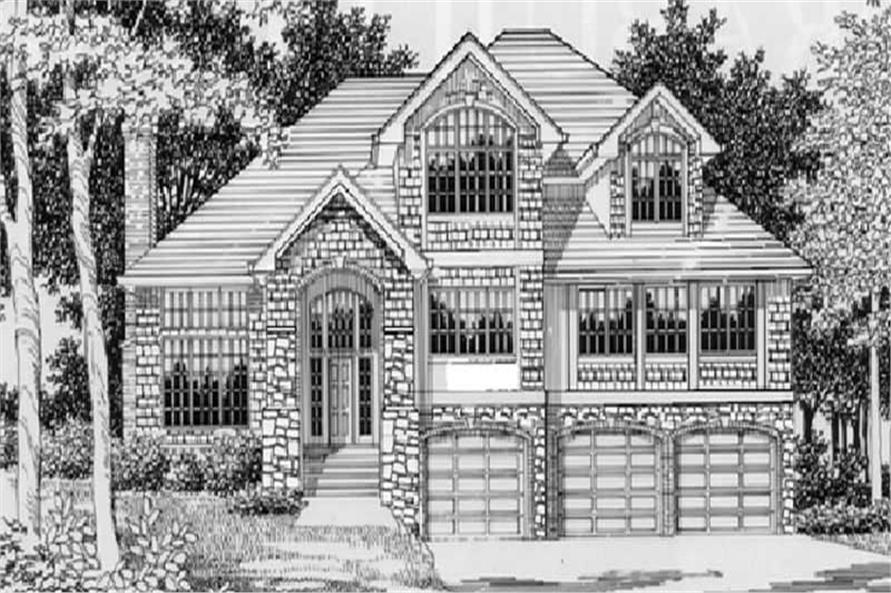 Main image for house plan # 2528