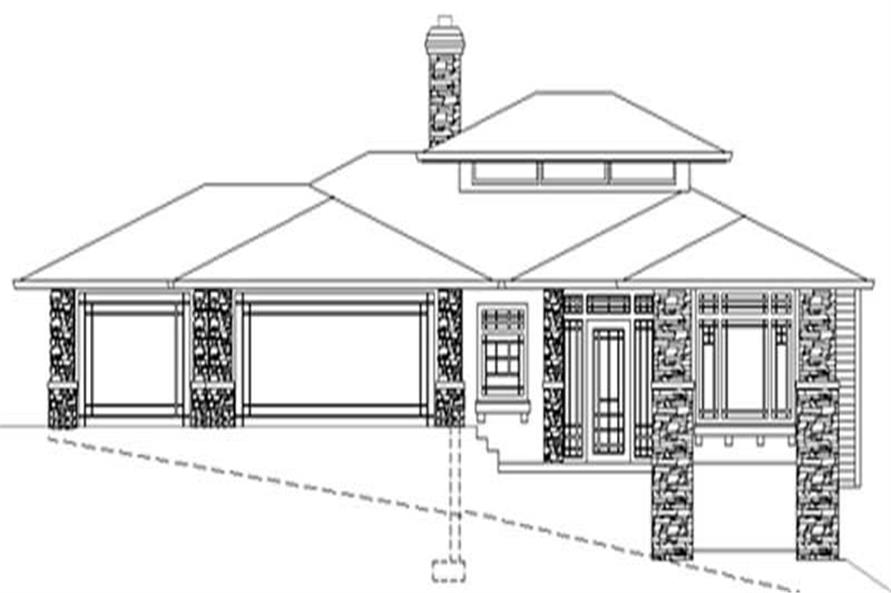 Home Plan Rendering of this 3-Bedroom,1848 Sq Ft Plan -149-1405