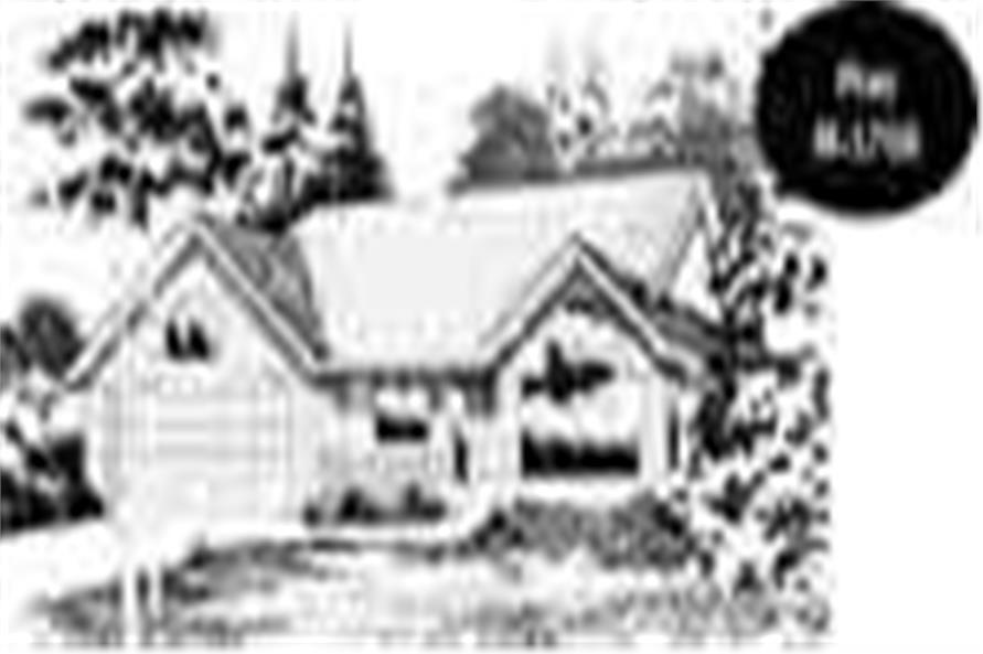 Main image for house plan # 2289